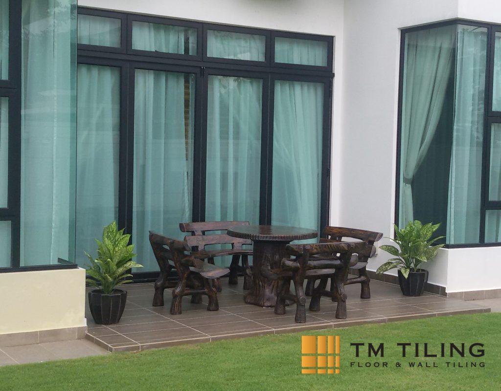 Patio Floor Tile Waterproofing in Singapore Landed House - Bedok ...