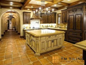 Mediterranean kitchen floor tiles tm tiling singapore