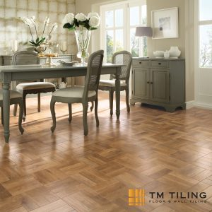 parquet Wood look tile tm tiling singapore